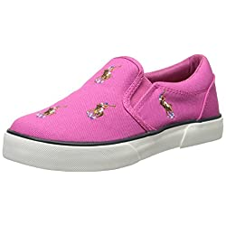 Polo Ralph Lauren Kids Bal Harbour Repeat Pony Slip-On (Toddler/Little Kid)
