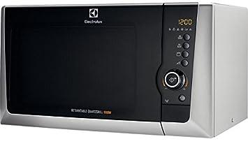 Electrolux EMS28201OS Encimera 28L 900W Plata - Microondas (Encimera, 28 L, 900 W