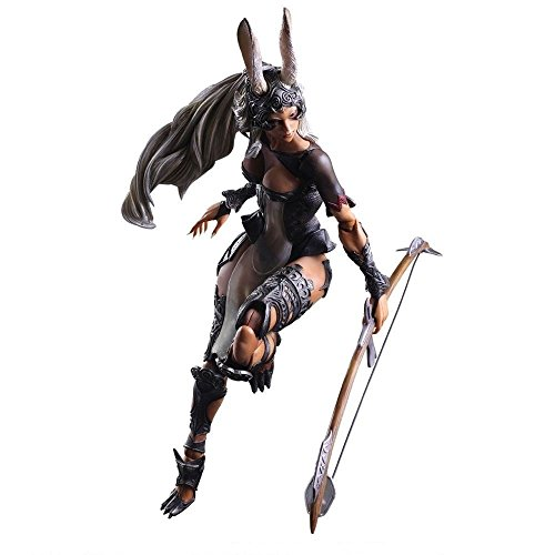 Shalleen Final Fantasy XII FF12 Play Arts Kai Fran VIERA WARRIOR Figure