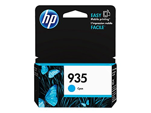 HP 935 Cyan Original Ink Cartridge For HP Officejet 6812 - 6815 - 6820 - 6825 - HP Officejet Pro 6230 - 6830 - 6835