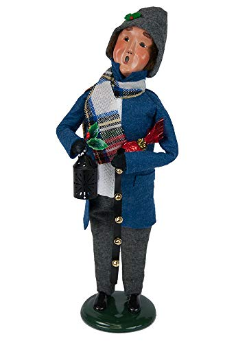 Byers' Choice Clark Shopper Man Caroler Figurine #1183M from The Caroling Families Collection