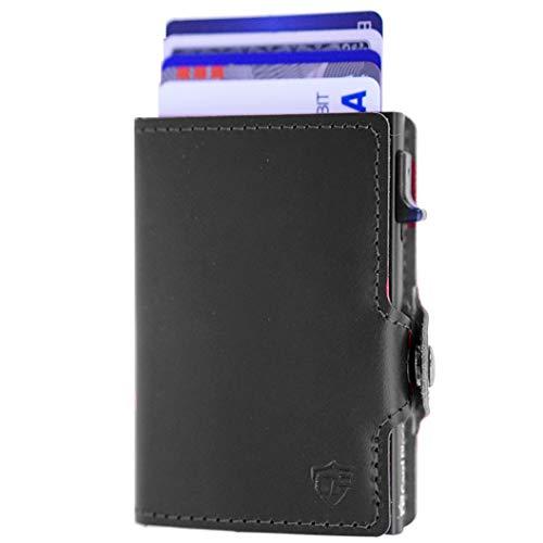 (Best Minimalist Wallet | Credit Card Holder Slim Wallet | Card Blocr RFID Blocking Card Wallet)