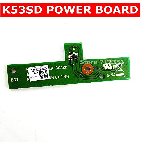 Cables & Connectors K53SD Power Board for ASUS A53S X53S K53S P53S K53SV  K53SD K53E K53SV K53SJ K53SM Power Button Switch Board - (Cable Length:  Power