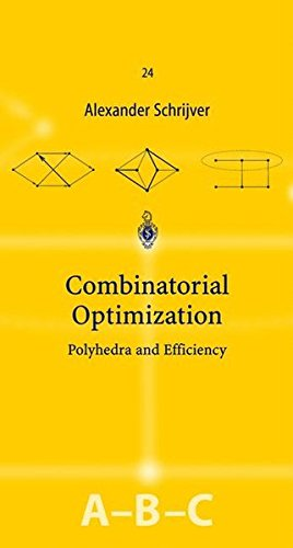 Combinatorial Optimization (3 volume, A,B, & C) by Springer