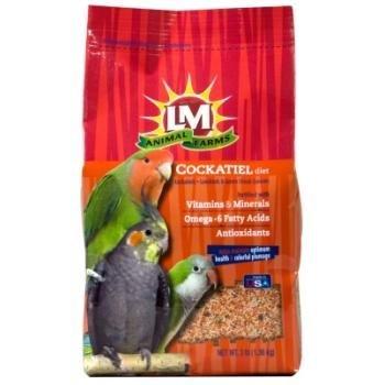 LM ANIMAL FARMS - LM COCKATIEL (3 LB) ''Ctg: BIRD PRODUCTS - BIRD - FOOD: SEEDS & PELLETS''