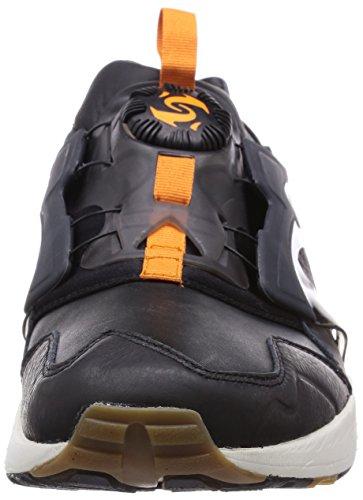 Puma Trinomic Disc Rugged Blaze Sneaker Men Trainers 357365 01 black leather