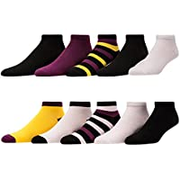 10-Pack Elephant Brand Low Cut & No Show Women's Socks (Multiple Colors)