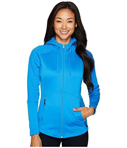 (Spyder Women's Bandita Full Zip Light Weight Stryke Hoody, French Blue/French Blue, Medium)