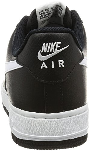 Nike Herren Air Force 1 Basketballschuhe Schwarz (Black/white/white)