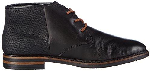 Schwarz Planos Mujer Mogano 01 con Cordones Zapatos Schwarz Schwarz Rieker50620 Negro qI45wY