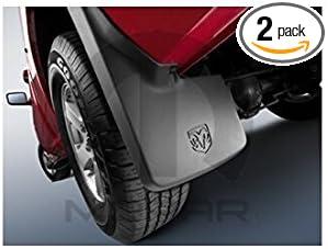 Dodge Ram Trucks >> Dodge Ram Truck Mopar Molded Splash Guards For Trucks Without Fender Flares Mud Flaps Front And Rear Set Of 4