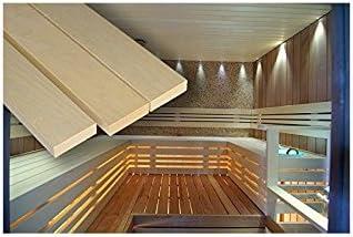 /2100/mm Banque Sauna lattes tremble 28/x 90/mm/