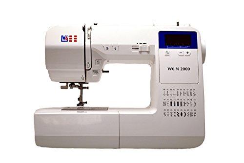 W6 Nähmaschine N 2000 Computergesteuerte Nähmaschine mit 30 Programmen