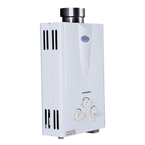 Marey Power Gas 5L 1.3GPM Propane Gas Tankless Water Heater by MAREY