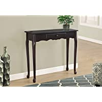 Monarch Hall Console Accent Table, 36', Dark Cherry