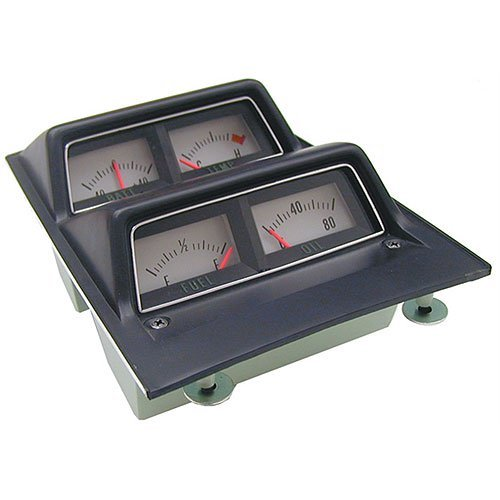 - Auto Metal Direct W-660A Console Gauge Assembly 1968-69 Camaro