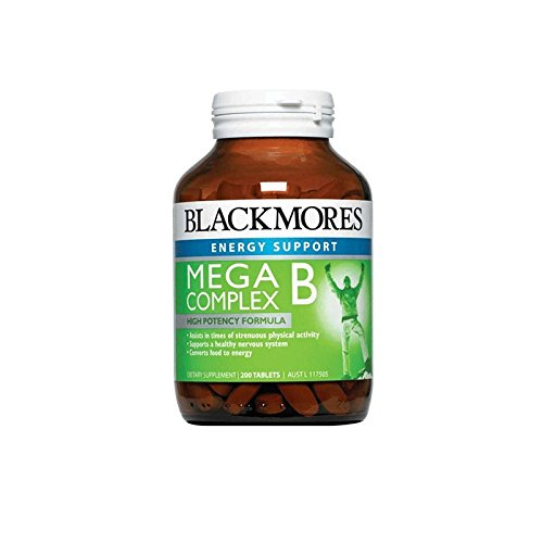 Blackmores Mega B Complex 200 Tabs by Blackmores LTD