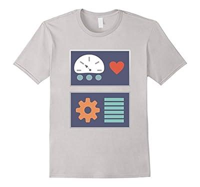 Robot Costume Halloween Dress Up T-Shirt