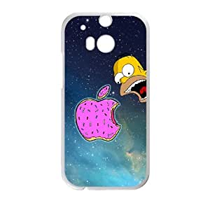 Homer Simpson's For HTC One M8 Csae protection phone Case FXU311830