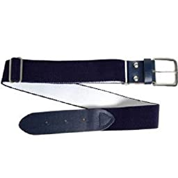 Wilson Adult Elastic Baseball Belt, Navy