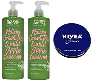 product image for Not Your Mother's 2 Pack Matcha Green Tea & Wild Apple Blossom Nutrient Rich Conditioner 16 Oz.+ Travel Size Body Cream 1 Oz.