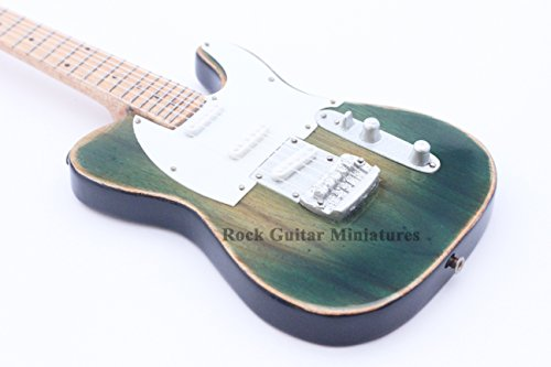 RGM667 Francis Rossi Status Quo Telecaster Miniature Guitar Rock Guitar Miniatures Francis Rossi Andi Bown In the Army Now Whatever You Want Dog of Two Head