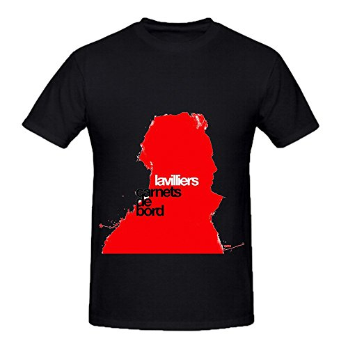 Bernard Lavilliers Carnets De Bord Tour Funk Mens O Neck Graphic Shirt Black