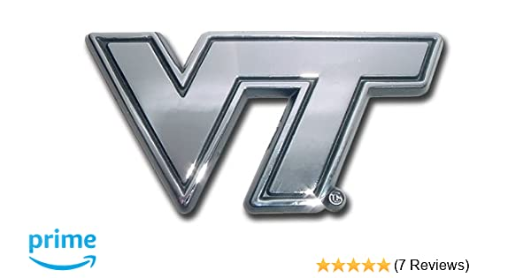 Fan Mats University of Virginia Color Chrome Car Emblem