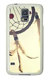 Dreamcatcher White Hard Case Cover Skin For Samsung Galaxy S5 I9600