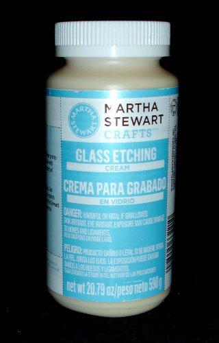 (Martha Stewart Crafts Glass Etch Cream (20.79-Ounce), 33221 )