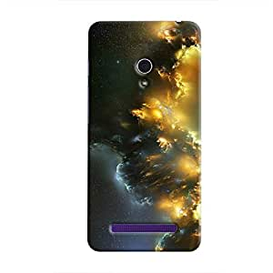 Cover It Up - Yellow Space Cloud Zenfone 5 Hard case