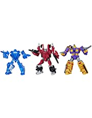 Transformers Toys Generations War For Cybertron Deluxe Fan-Vote Battle 3 Pack with Holo Mirage, Powerdasher Aragon, & Decepticon Impactor (Amazon Exclusive)