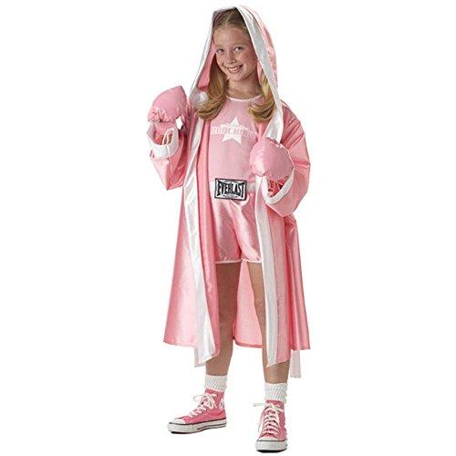 Tween Everlast Pink Boxer Costume (Sz:X-Lg 12-14) (Girl Boxer Costumes)