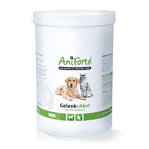 AniForte Teufelskralle Gelenk-Akut 500 g bei Arthrose- Naturprodukt für Hunde und Katzen