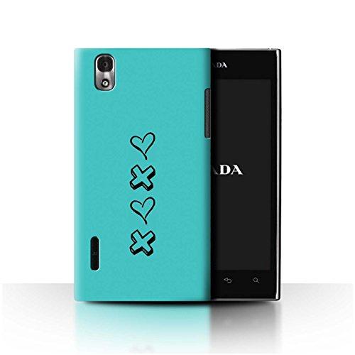 0 Lg D'amour amour Collection Prada Bleu Xoxo Rose Coque 3 Baisers chaussures Et Stuff4 Design De coeur p940 Pour k2 RqPTSWYt