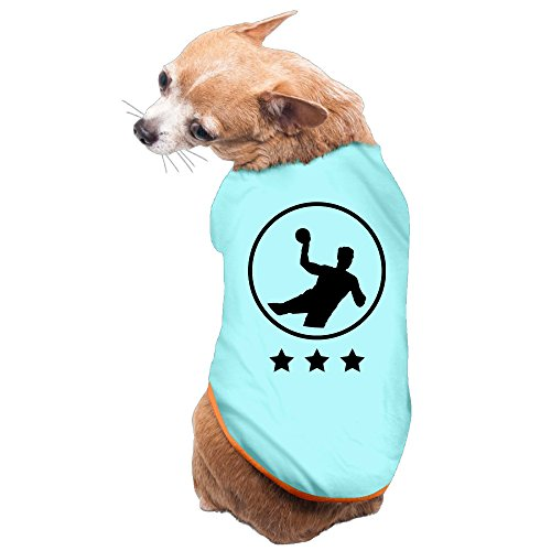 Vgd Handball art logo SkyBlue Cool Dog Clothes