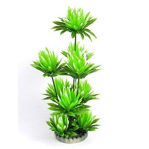 Amazon.com : Planta de agua del acuario Bloom emulational acuática 24cm Altura Verde : Pet Supplies