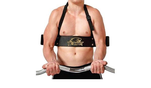 BeSMART BS Aislamiento de bíceps, levantamiento de pesas, entrenamiento de brazos, curvo: Amazon.es: Deportes y aire libre