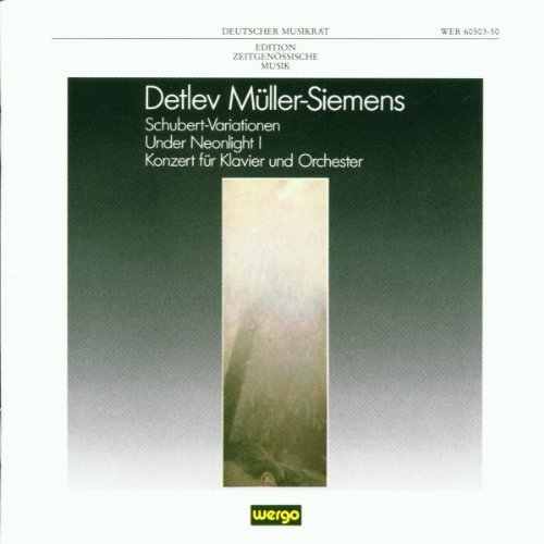 Price comparison product image Muller-Siemens: Schubert-Variationen
