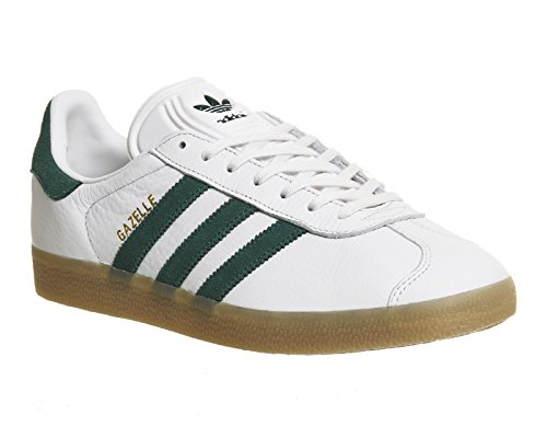 Adidas Gazelle chaussures 5,0 white/green
