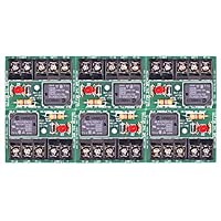 ELK-912B6 SPDT Relay Module (12V/24V selectable, 6 Pack)