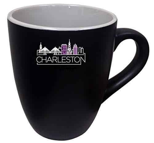 (Charleston South Carolina City Stylish Trendy Souvenir Two Tone Ceramic Mug 2-Pack)