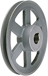 """... Leeson//AMEC 2.20/"""" OD Double Groove Pulley Sheave for 3V Style V-Belt"""
