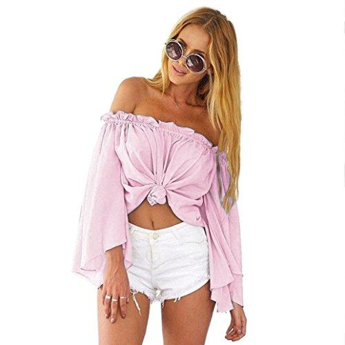 SANNYSIS Summer Shoulder Casual Chiffon product image