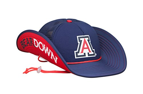 Cowbucker Collegiate bucker Hat | Officially Licensed (OSFA, Arizona Wildcats BearDown)