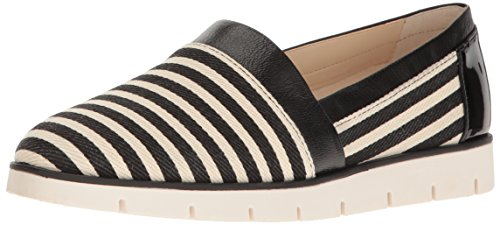 Shoe Women's Nine West Uala Multi Black White Walking Fabric 4X5B5rx