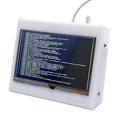 geekworm 12,7 cm HDMI TFT LCD acrílico Protector de caso ...