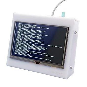 geekworm 12,7 cm HDMI TFT LCD acrílico Protector de caso Carcasa ENCLOSER apoyo para