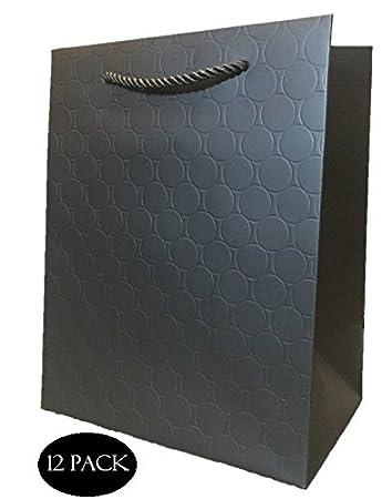 Black Matte Gift Bags Bundle