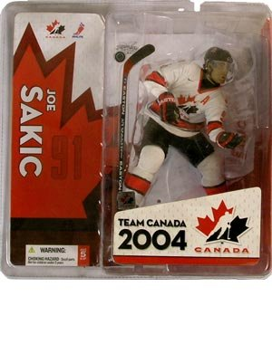 McFarlane Toys NHL Sports Picks Team Canada Action Figure Joe Sakic